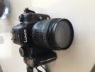 Panasonic lumix gh2 full hd çok çok az kullanılmış