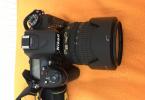 NİKON D7100 18-105 lensi ile