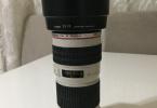 Canon 70x200mm f:4 USM L serisi Lens