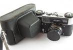 FED5 russian 35 mm vintage fotoğraf makinası