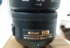 NiKON 35 MM 1.8 G