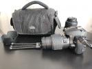 Nikon D5000 body, 18-55 ve 55-200mm iki adet lens