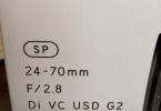 Tamron SP 24-70mm F/2.8 Di VC USD G2 Lens Canon Uyumlu