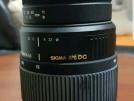 SIGMA APO DG 70-300mm Lens + Kenko UV Filtre 58mm