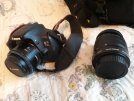 Çift lens 600d Rebel T3i