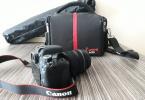 Canon EOS 750D 18-135 mm + Çanta + Hafıza Kartı + Tripod