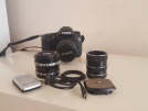 Canon 7D + İki adet lens + Yedek batarya, Shutter 16K