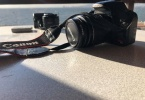 CANON REBEL T1i (500 D), 18-55mm + Çanta + Kart + Batarya, EOS 500D