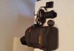 Canon Eos 650 D + 18-250 + 50 mm + Canta + hafiza karti + sarz kablosu + Tripot
