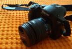Çok temiz Samsung NX30 body+18-55 mm Lens