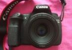 Canon 60D fotoğraf makinesi 50mm lens