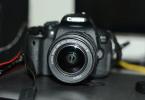 Canon eos 700d temiz 0 gibi