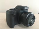 Canon 600 d set 18-55,75-300 ve 50 mm lens