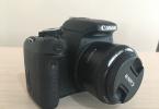 Canon 600 d set 18-55,75-300 canon lens