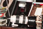 canon 5 d mark 2  v860 flas 70 200 lens set