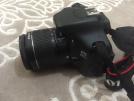 Canon 600 d fotoğraf makinesi ve zoom lens