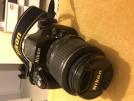 Nikon D5200 DSLR + Nikkor 35mm sabit 1.8f G lens ve aksesuar