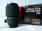 Sigma 150mm f/2.8 EX DG HSM MACRO Lens (Nikon)
