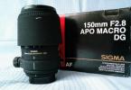 Sigma 150mm f/2.8 EX DG HSM APO MACRO Lens (Nikon)