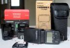 2.EL Yongnuo Speedlite YN 568EX II (flaş) ve  Yongnuo YN-622C II E-TTL Wireless (tetikleyici)