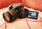 CANON 600d + 18-55 Lens