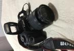 Canon 1200D+18-55 lens+75-300usm+Çanta+16 GB hafıza kartı