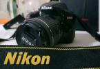 Nikon D3400 -9 aylık nokta hasar yok
