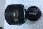 Nikon Nikkor 35mm 1.1.8 G DX Onjektif