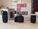 Canon 4000D + 18-55mm Lens + 70-300mm Lens