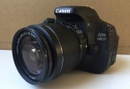 Sadece 33 kare çekilmiş Canon 600 d fotoğraf makinesi