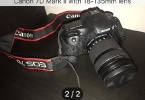 Canon 7D Mark ll 18-135mm Lens