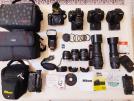Canon Nikon Sony Profosyonel Fotoğraf Makineleri