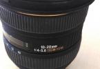 Sigma 10-20 1:4-5,6  EX DC HSM Nikon Uyumlu Balık Gözü Lens