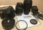 Nikon D3100 4000 Shutter(Fiyat Düştü)