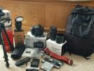 Canon EOS 5D Mark IV, EF 24-70mm f / 4L IS II Objektif Kiti