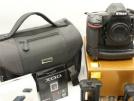 Nikon D850 FX formatlı Gövde w / AF-S NIKKOR 105mm f / 1.4E ED Objektif