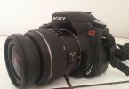 Sony a300 alpha + 18 - 55 lens