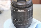 CANON ZOOM LENS EF-S 18-55 mm