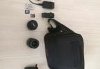 Canon 700D + Canon 18-55 EF-S Lens + Canon EF 50 mm 1.8  STM Lens + uv filtre + 2 Adet 16gb Hafıza kartı+ 2 adet şarj aleti+ Çanta