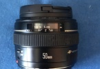 Canon 50mm f/1.4 objektif