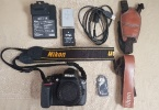Nikon D5300 gövde, 18-105 lens