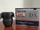 Tokina 11-16mm F2.8 AT-X 116 PRO DX II Nikon uyumludur.