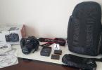 15k da Canon Eos 70D +18-55 IS STM+YEDEK BATARYA+ASKI+KUTU VE KUTU İÇERİĞİ