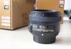 Nikkor af-s 50 mm1.8 G  objektif