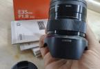 Sony e 35 1.8 f lens