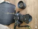 Sıfır ayarında Nikon D7100 ve lens takımı
