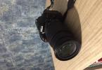 Nikon D5300 Fotoğraf Makinesi AF-S Nikkor 18-105 lens az kullanılmış