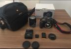 Canon eos 60d +18-135 lens ve ekipmanlar