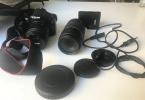 Canon Eos 1100 D -Temiz kullanılmış fotoğraf makinesi