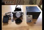 Lumix LX100+Deri Kılıf+64gb kart+UV filtre+lens cap